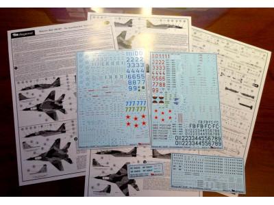 "BEGDEC 48-014 1/48 Микоян МиГ-29СМТ -the hunchbacked ""Fulcrum"""