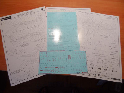 BEGDEC 48-017 1/48 Микоян МиГ-29 технические надписи