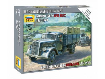 6126 Zvezda 1/100 Немецкий грузовик Опель Блиц (1937-1944)