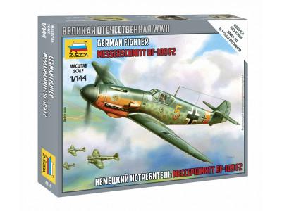 "6116 Zvezda 1/144 Немецкий истребитель ""Мессершмитт"" BF-109 F2"