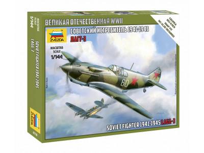 6118 Zvezda 1/144 Советский истребитель ЛаГГ-3 1941-1945