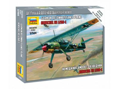 6184 Zvezda 1/144 Немецкий самолет-разведчик Henschel Hs 126B-1