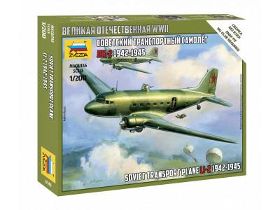 6140 Zvezda 1/200 Советский транспортный самолет Ли-2 1942-1945