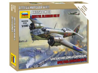 6230 Zvezda 1/200 Британский бомбардировщик Бристоль Бленхейм Mk-IV