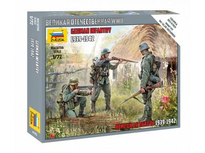 6105 Zvezda 1/72 Немецкая пехота 1939-1942